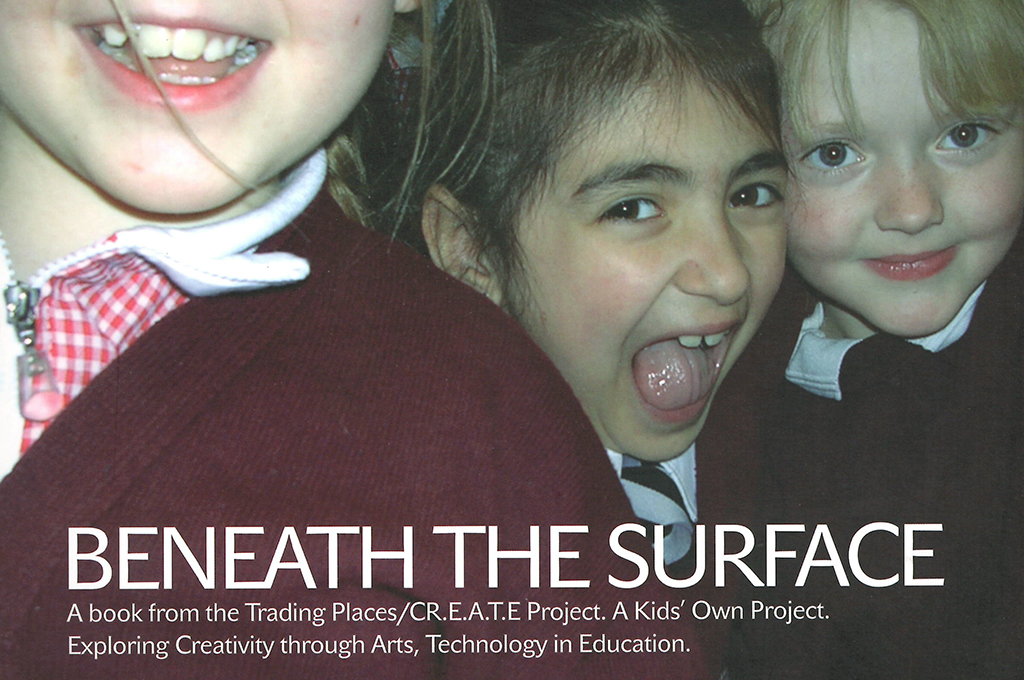 Beneath the Surface – Ideas for developing children classroom arts projects