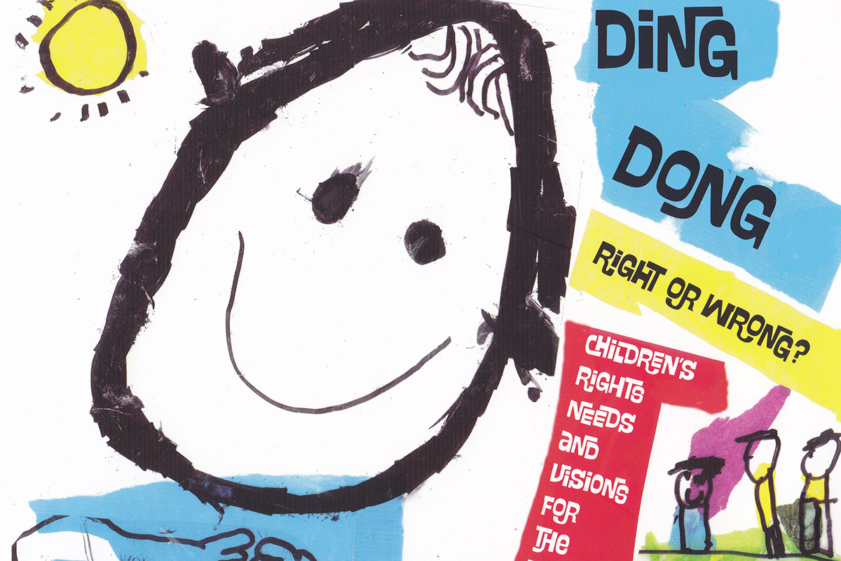 Ding Dong, Right Or Wrong? – Children's rights, needs and vision for the future