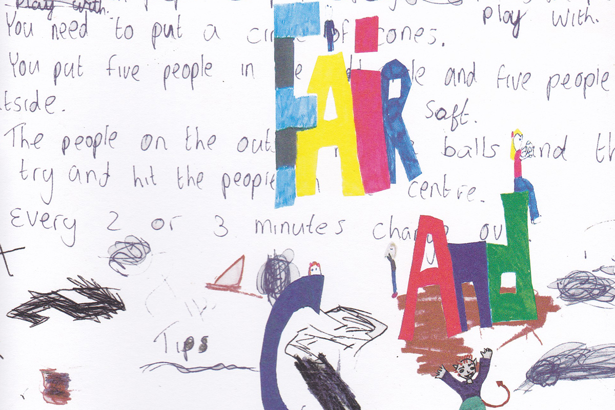 Fair and Square – A book of fun and games helping children make new friends