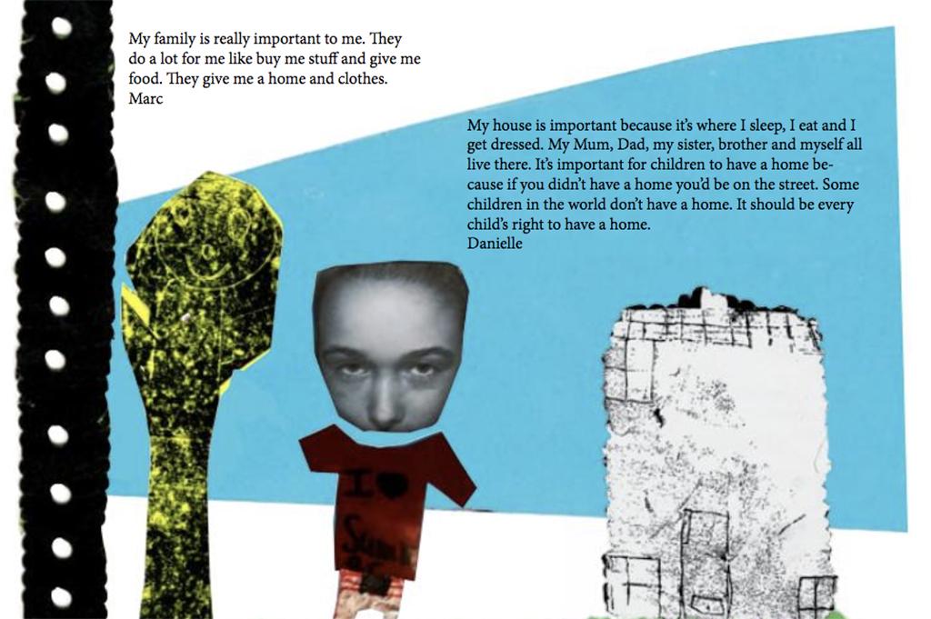 World of children - children's rights book by Kids own