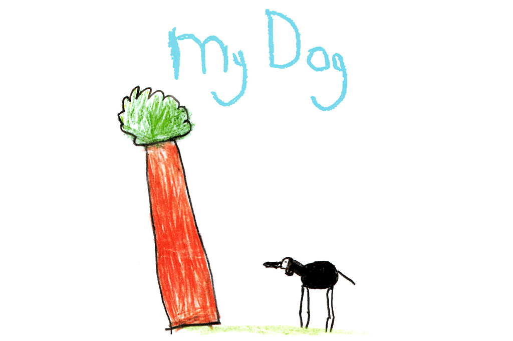 My Dog by Donal Parsons – Illustrations and text about his dog friendship