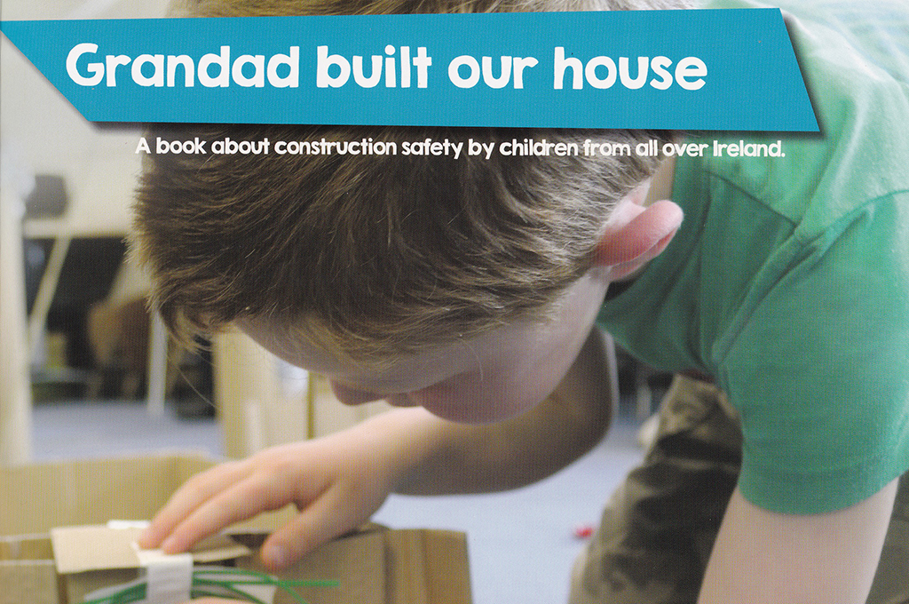Grandad built our house – A book about construction safety