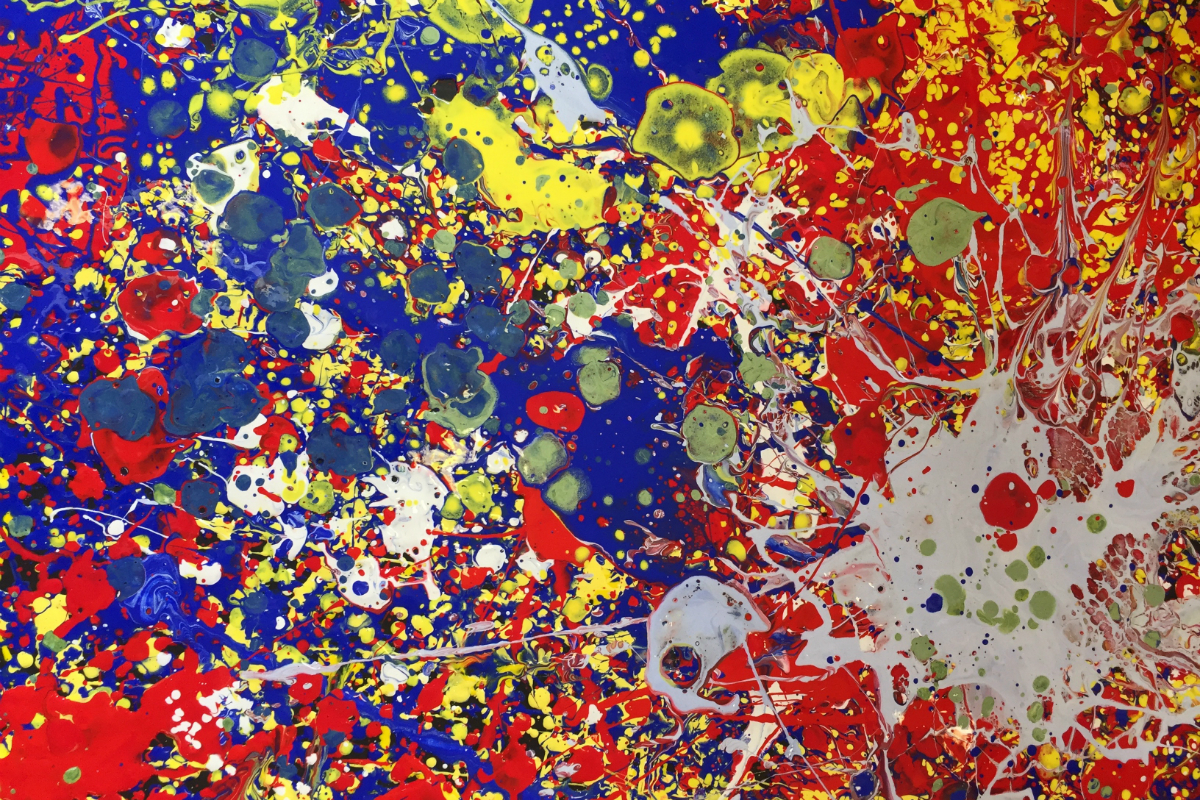 Jackson Pollock Inspired Painting, 2016 | Virtually There Project | Kids' Own