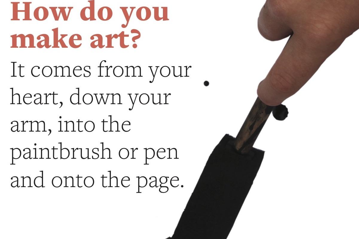 How do you make art?, 2018 | I Hope You Grow | Kids' Own Publishing Partnership