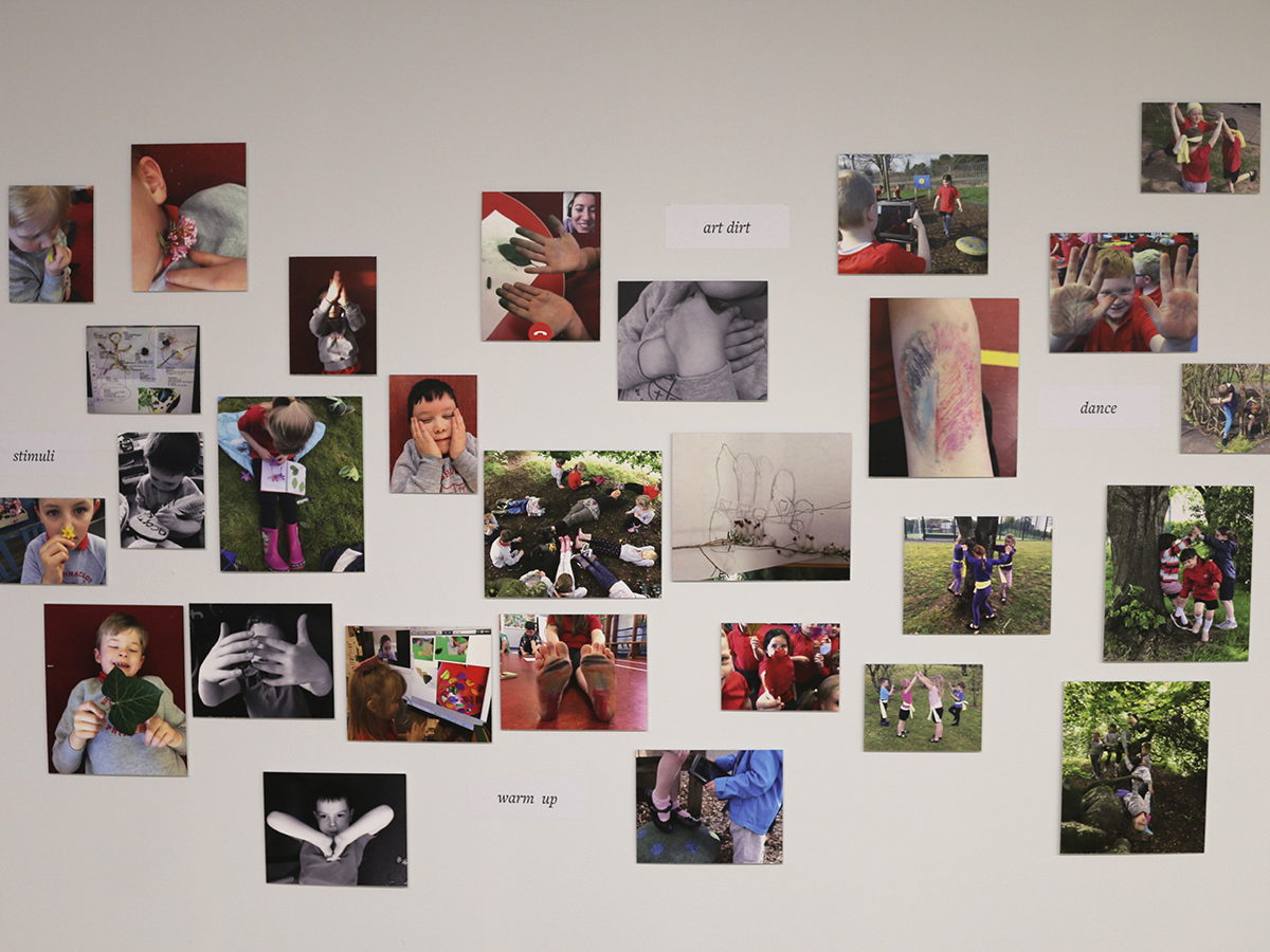 Aughnocloy exhibit at Virtually There exhibition - Kids Own - Photo montage