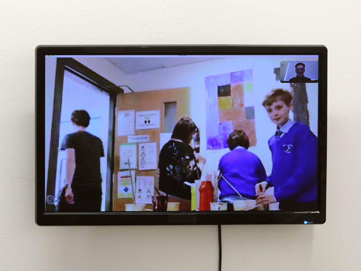 St Colman's Primary School - Virtually There Exhibition - Kids Own Publishing - video piece