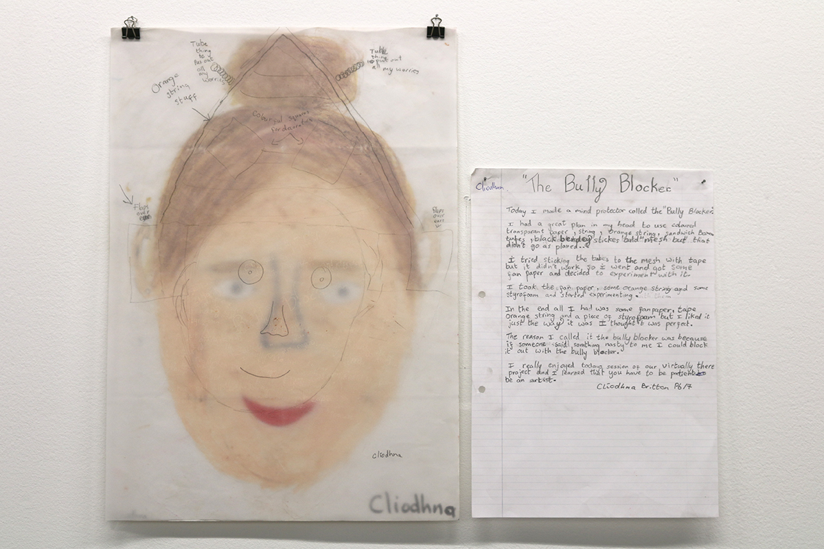 St Patrick's Primary School - Virtually There exhibition