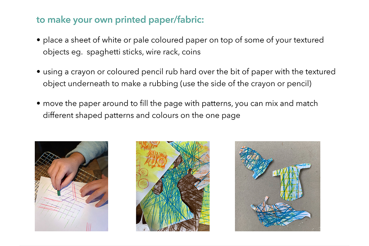 Page 5 - Anna Spearman guide to making paper standing figures - Kids Own art project online