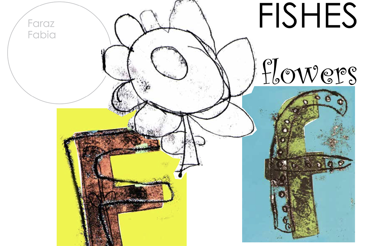 F is for fish - A to Z and back again - Alphabet book by Kids Own Publishing