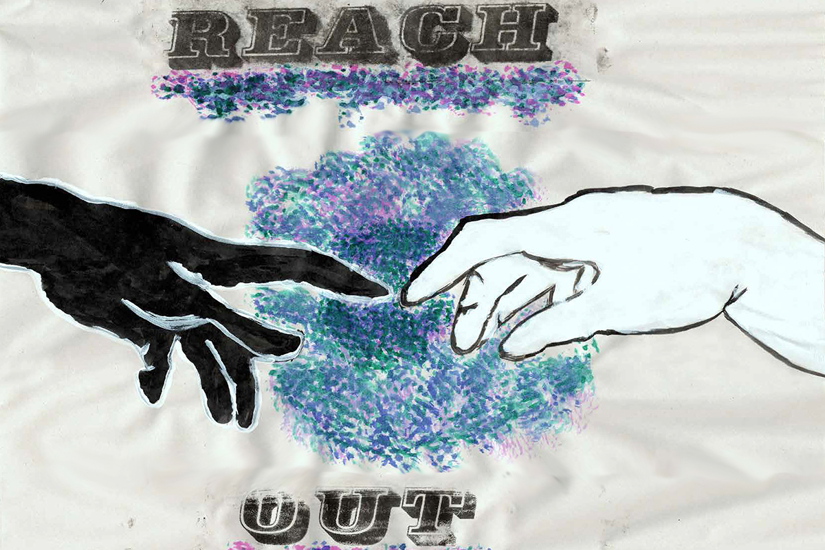 Reach Out poster - Kids Own youth art project