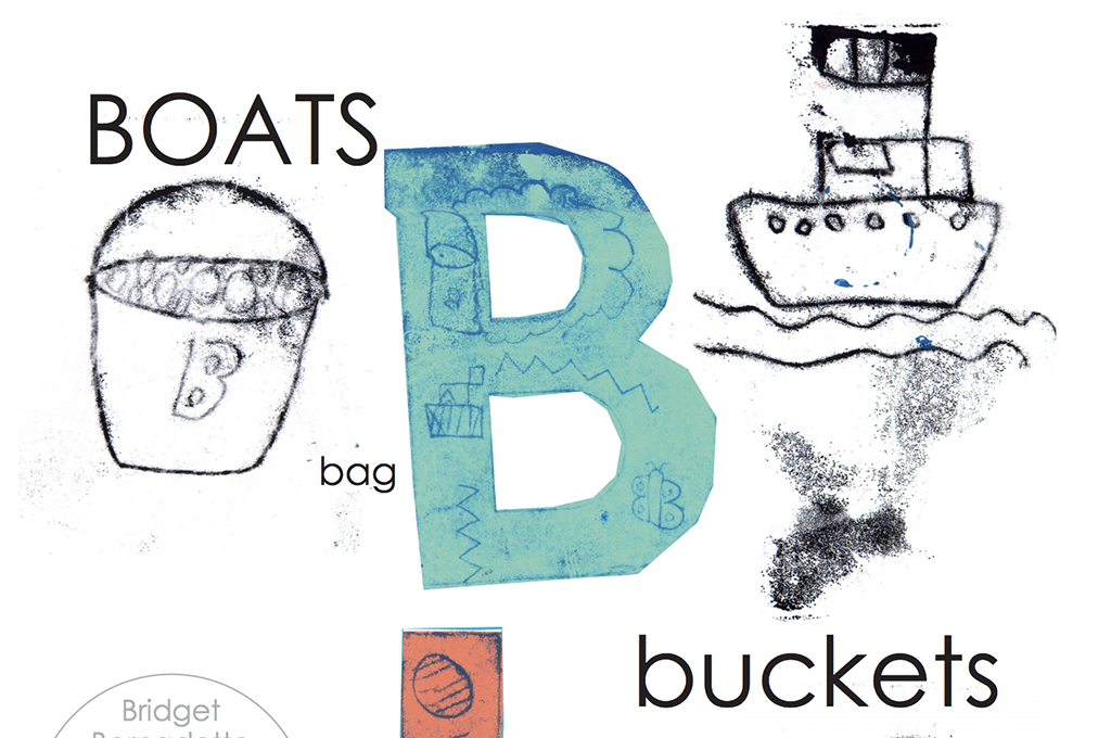 B is for bucket - Alphabetical book by Kids Own Publishing