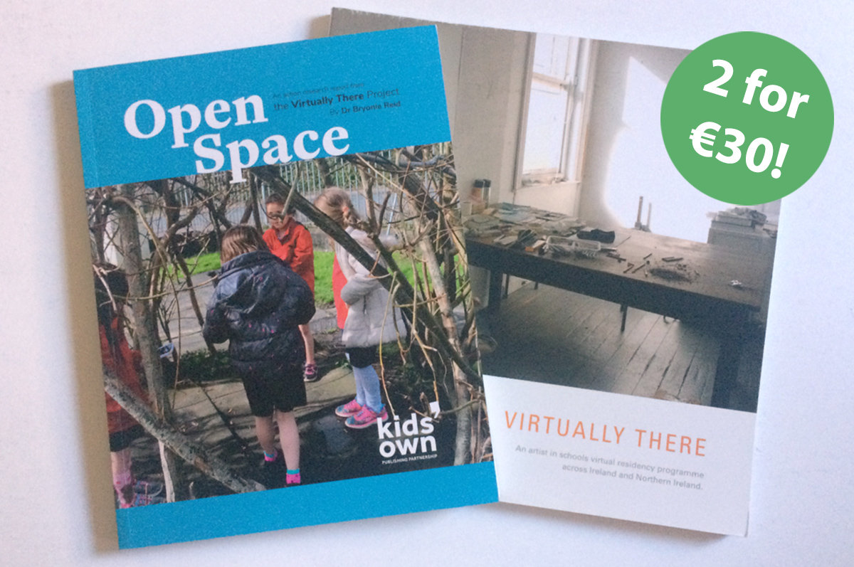 Special offer: Open Space & Virtually There book bundle