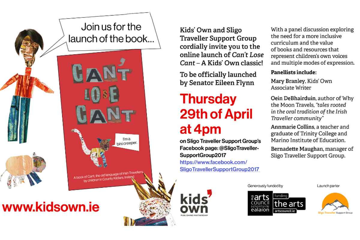 Invite to launch of Can't Lose Cant republication