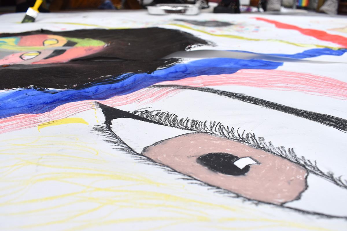 LGBTQIA+ art project in Sligo and Leitrim self portraits